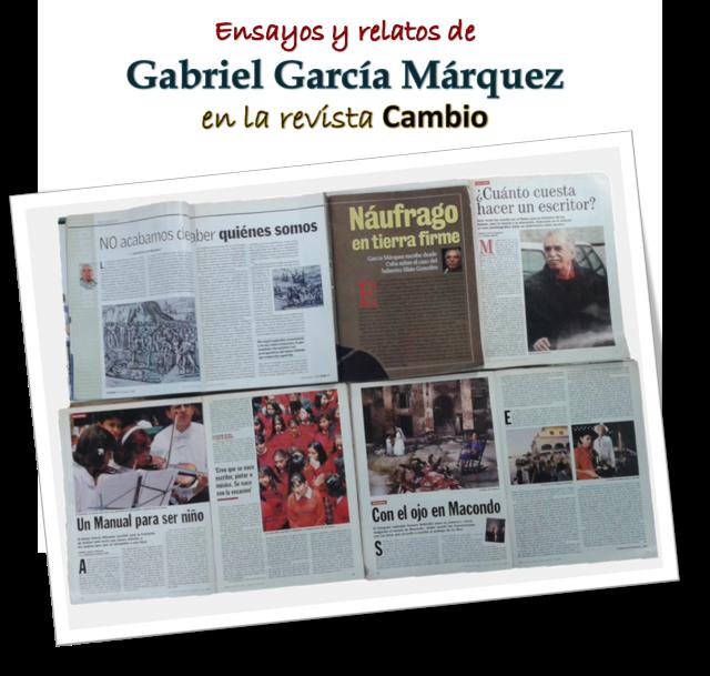 Ensayos y relatos de Gabriel García Márquez
